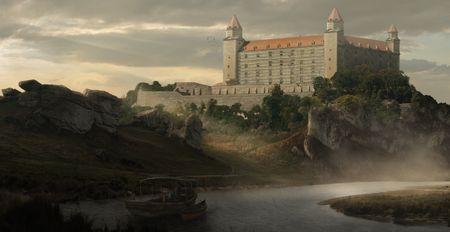 Castle_Matte paint Challenge