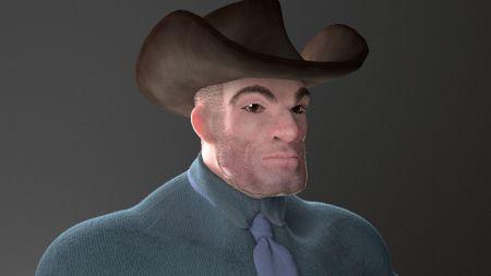 Zbrush Cowboy