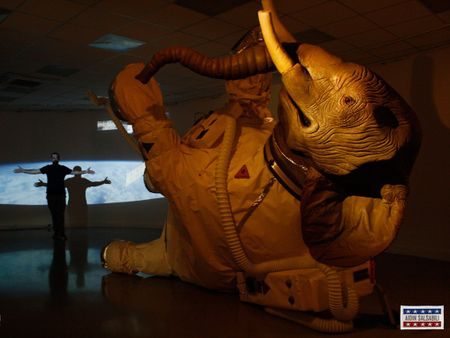 Mission/ Elephant Astronaut