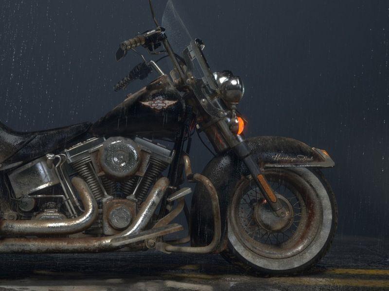 "Harley Davidson ""Heritage Softail"""