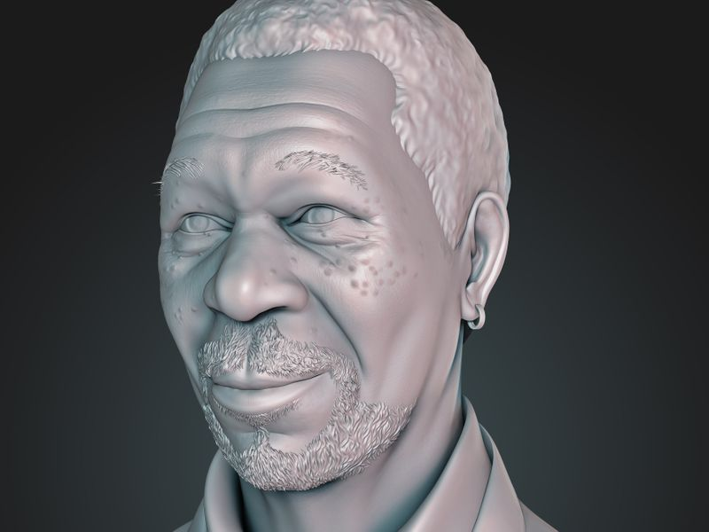 Bust - Morgan Freeman