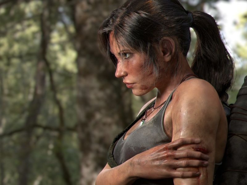 A Recreation of Lara Croft
