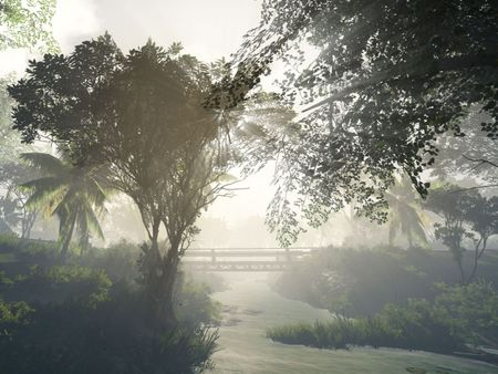 Environment Art in CRYENGINE 5.3 - Village Green