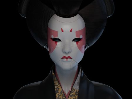 Ghost In the shell - Geisha Tribute