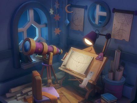 Astronomer Room