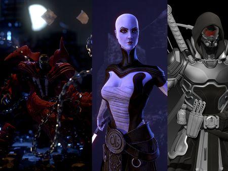 Assajj Ventress - Spawn The Costume Lives Again- Space Samurai.