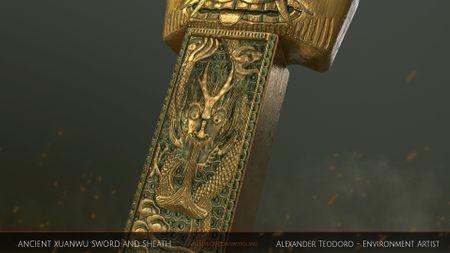 Ancient Xuan Wu Sword