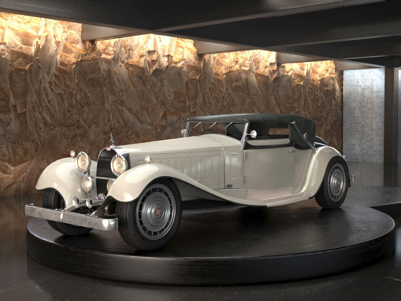 Bugatti Type 41 Royale Weinberger Cabriolet (1931)