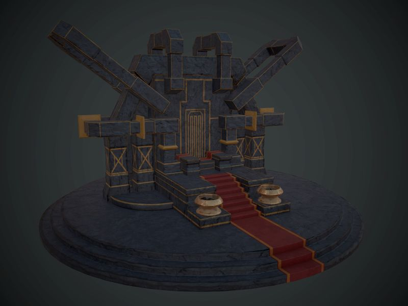 Dwarven Throne
