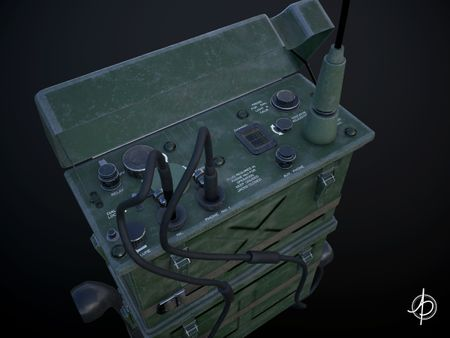 Military Radio (BC-1000 SCR-300)