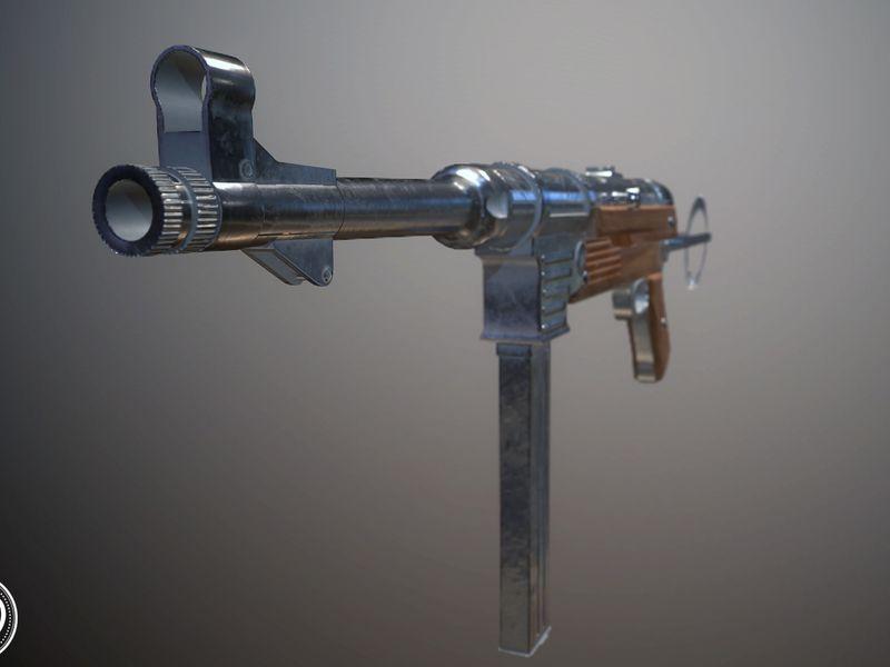 MP40 (Schmeisser)
