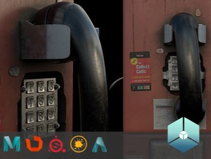 Abandoned Payphone_VFX Pipeline