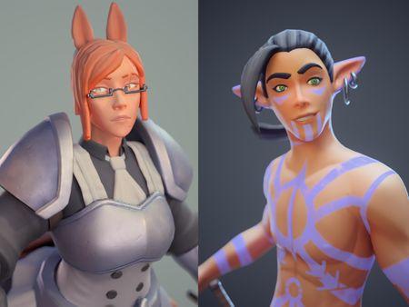 Stylized Character Models
