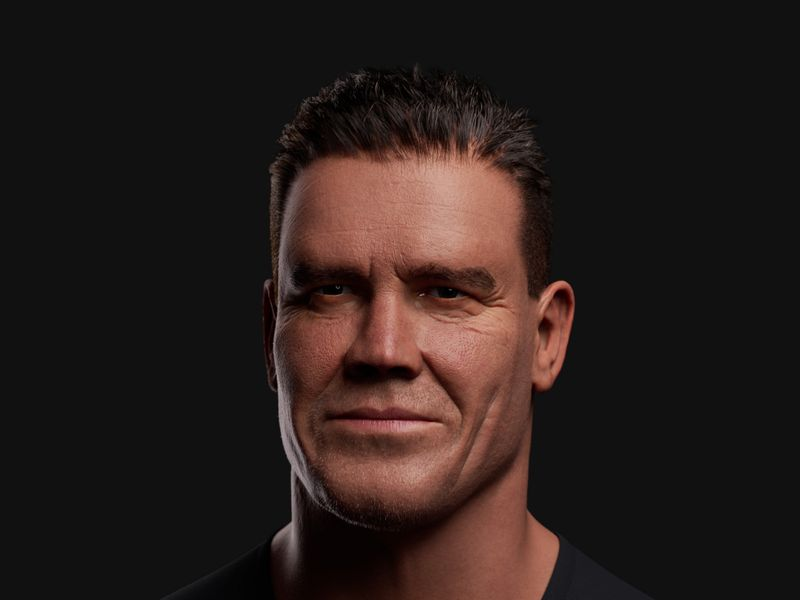 Josh Brolin Digital Double