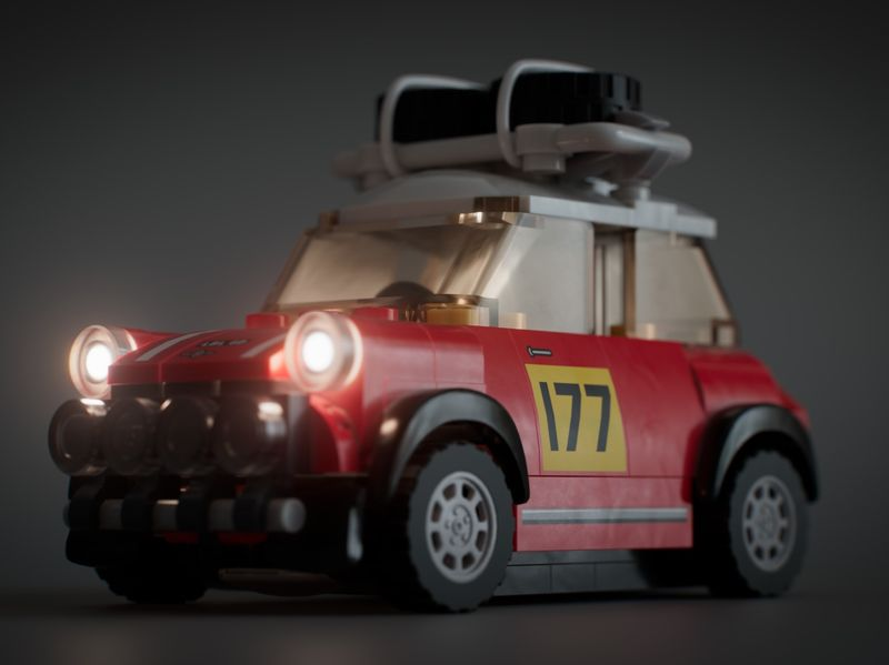 LEGO - 1967 Mini Cooper S Rally