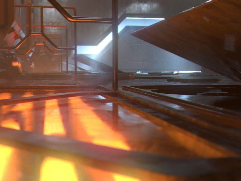 Houdini - Sci-Fi Corridor