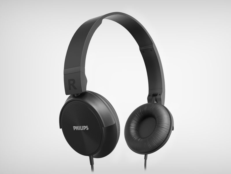 Philips SHL3060BK Headphones