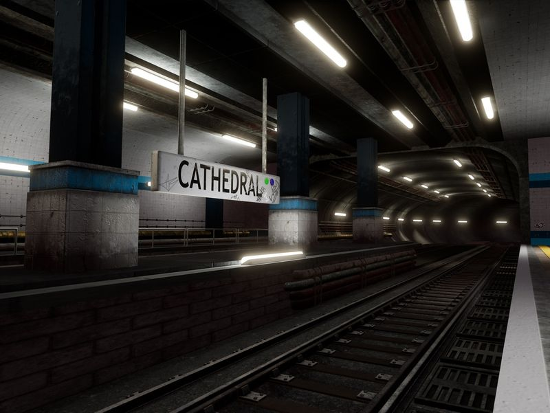 Cathedral Subway Station