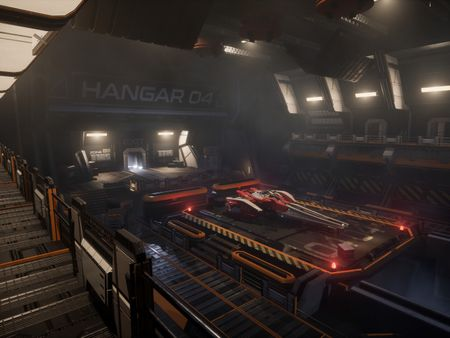 Hangar 04 - UE4 Environment