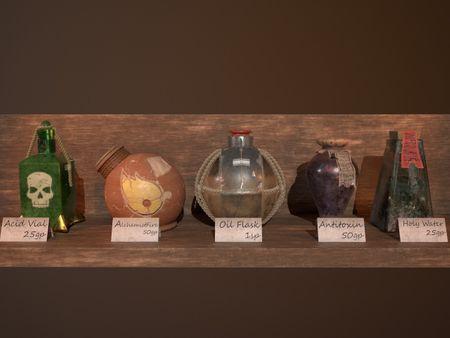 Vials and Jars