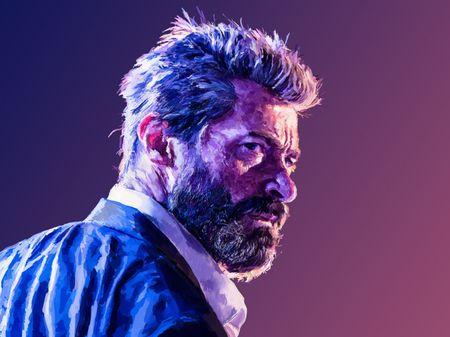 Hugh Jackman - Logan Digital Portrait