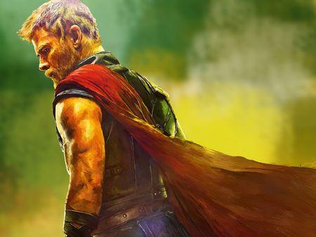 Thor: Ragnarok - Digital Portrait