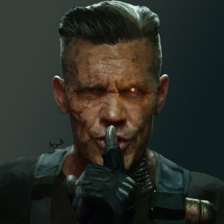 Deadpool 2 - Cable Digital Painting
