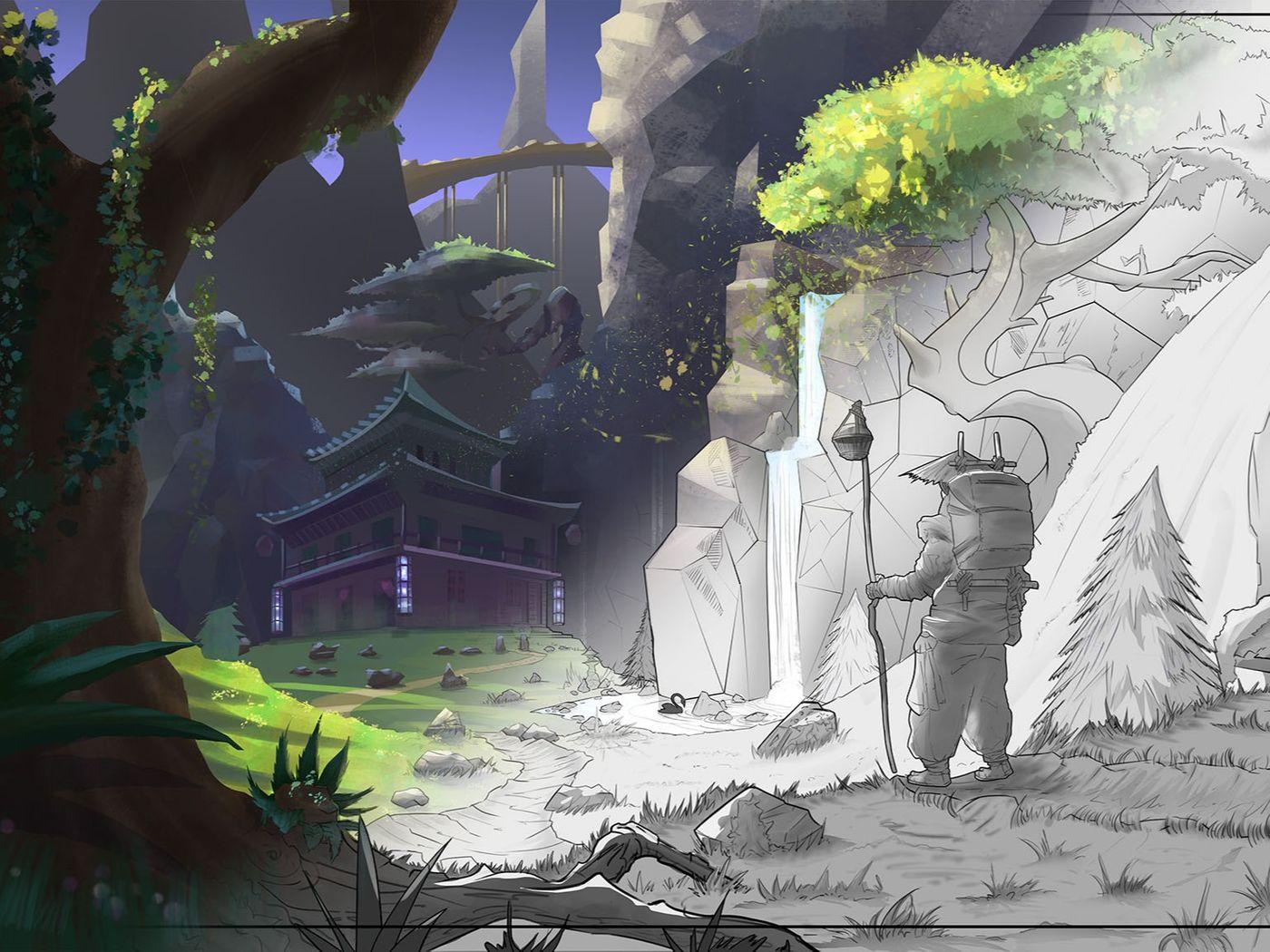 Digital Concept Art and Illustration