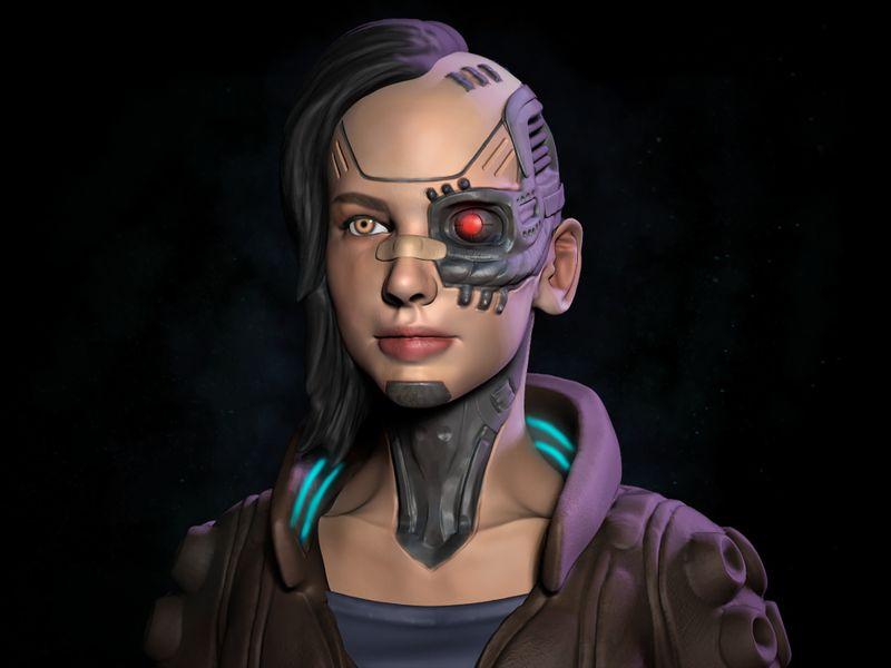 Cyberpunk Concept Sculpt