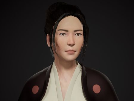 Real-Time Samurai Character