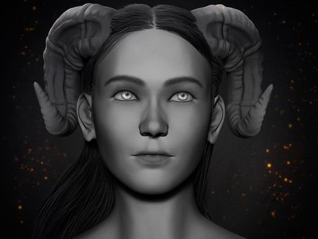 Demon Girl Sculpt