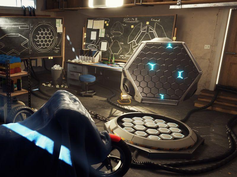 Quantum Garage - UE4