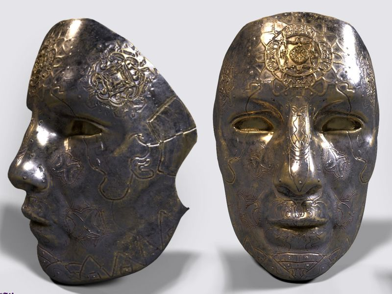 Lost kings mask