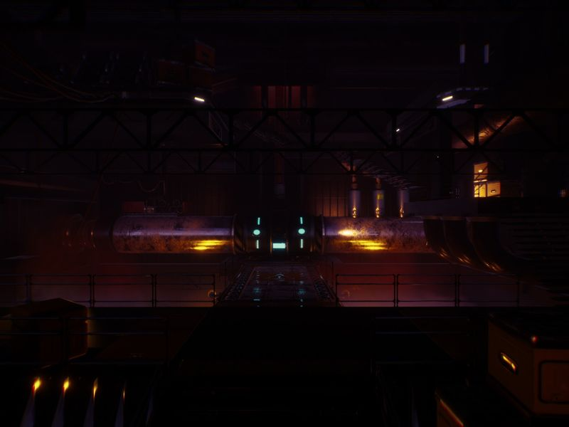 3D Sci-fi Environment (alien 3 inspired)