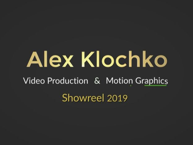 My Showreel