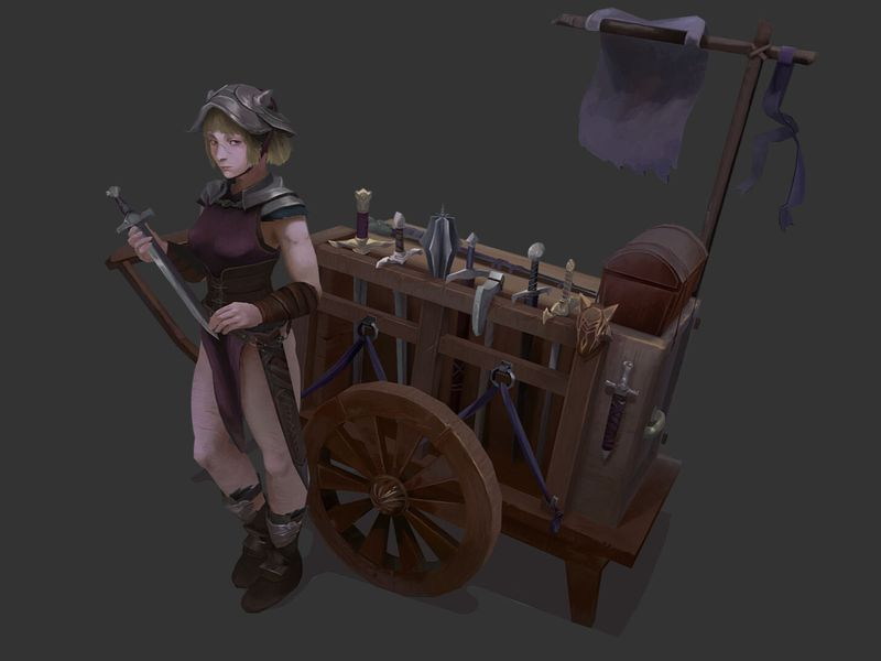 Weaponry Merchant