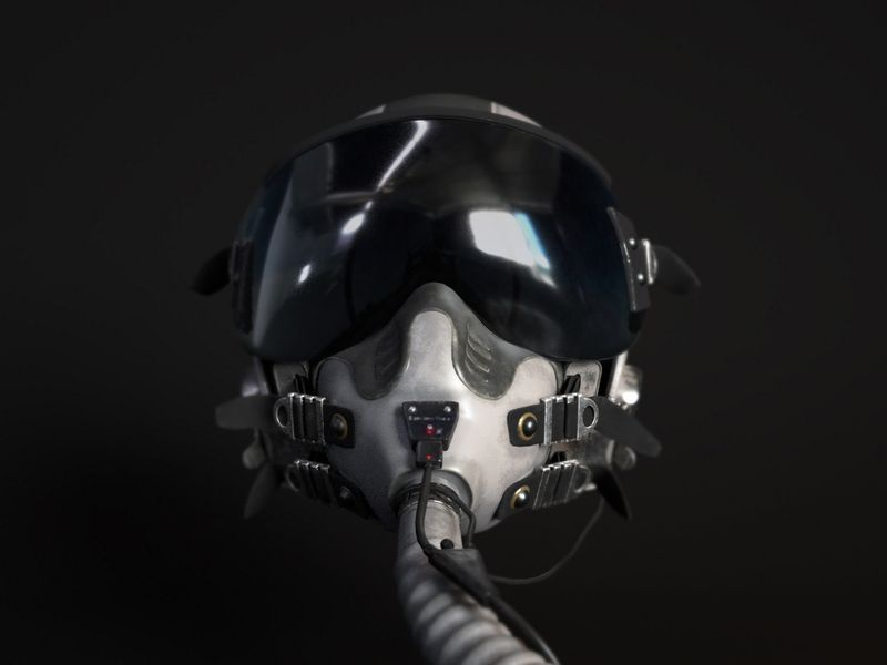 (Pilot Helmet) Gentex HGU-55