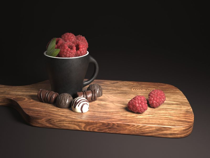 Still Life - Raspberry