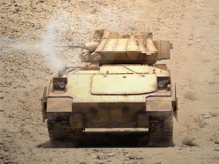 M2A2 Bradley Tank