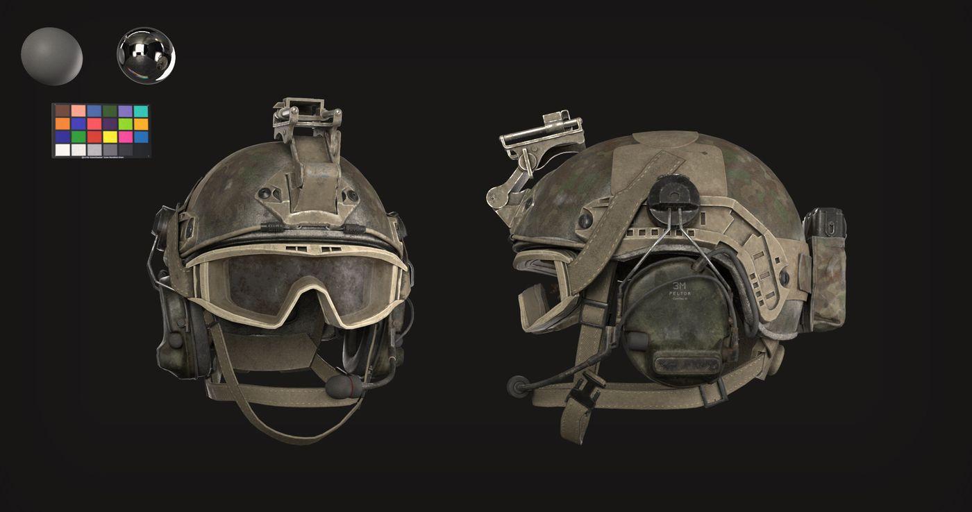 Helmet Render 2 K Alextuma