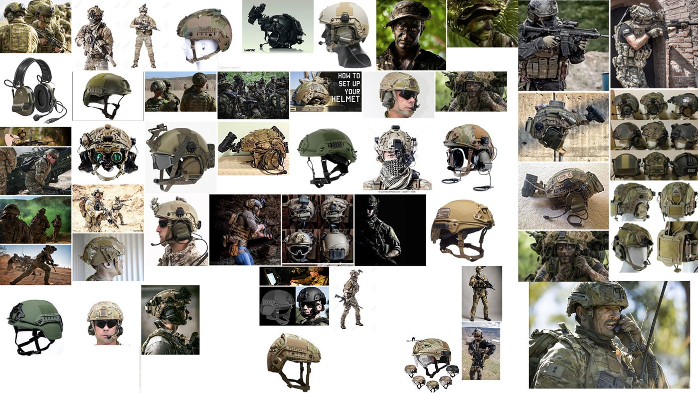 Combat Helmet Ref Sheet Alextuma