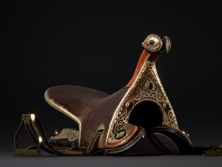 ER-TOQYM: CENTRAL ASIAN NOMAD'S HORSE SADDLE