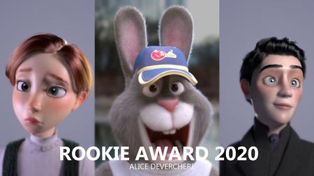ROOKIE AWARD - 2020