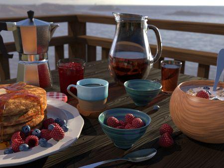 Breakfast By The Sea