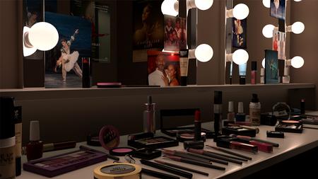 Backstage! Imagined Make-Up Studio of Misty Copeland