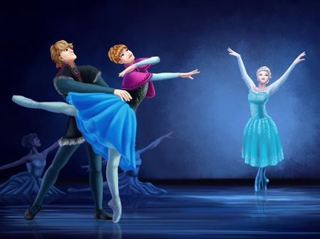 If Frozen was a Ballet