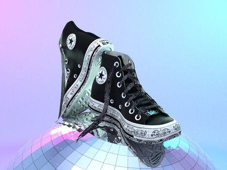 Shoes: Converse X MC