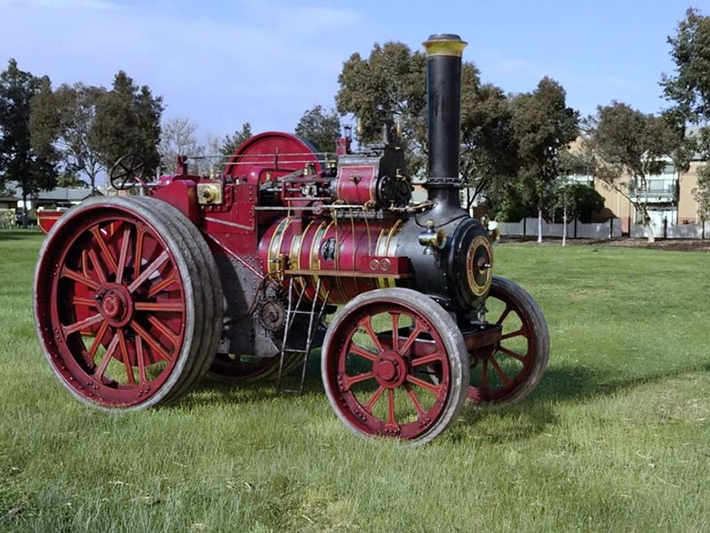 Steam Engine- Lighting and CGI Grass