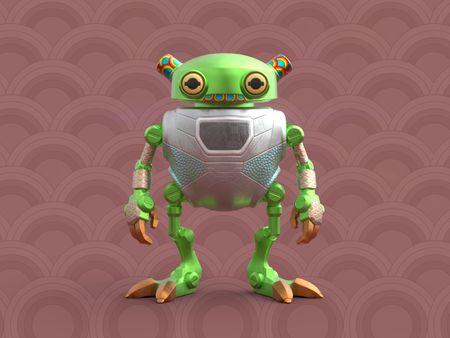 Eddie The Rescue Frog