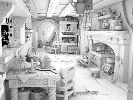Snow Queen Kitchen